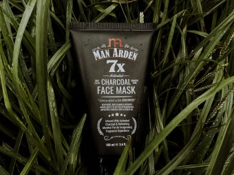Man Arden 7X Activated Charcoal Face Mask pic 2-Amazing product-By aamir9323