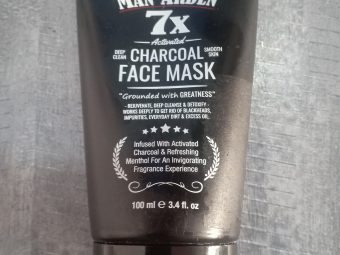 Man Arden 7X Activated Charcoal Face Mask -One of the best-By aarusha