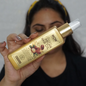 WOW MOROCCAN ARGAN HAIR OIL -Perfect for frizzing and dull hair-By sugandhaduggal