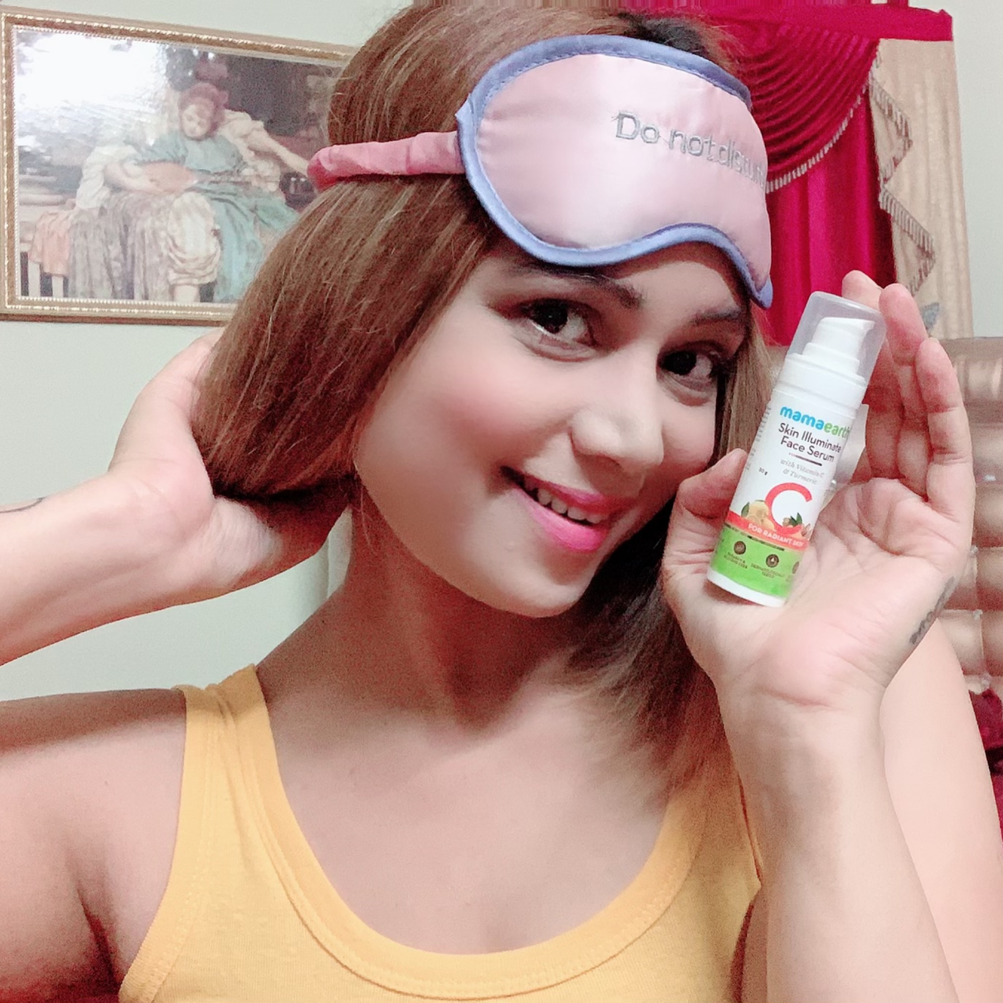 Mamaearth Skin Illuminate Face Serum With Vitamin C & Turmeric pic 1-BEST FACIAL ILLUMINATING SERUM-By mahekhanitha