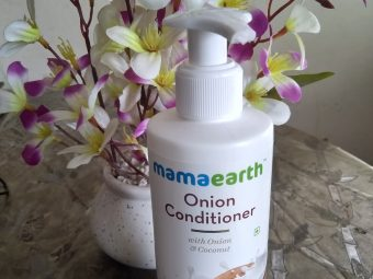 Mamaearth Onion Conditioner For Hair Growth & Hair Fall Control -Good Conditioner-By sreekala