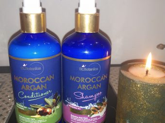 St.Botanica Moroccan Argan Hair Conditioner -Totally recommended for smooth tresses-By simardeep15
