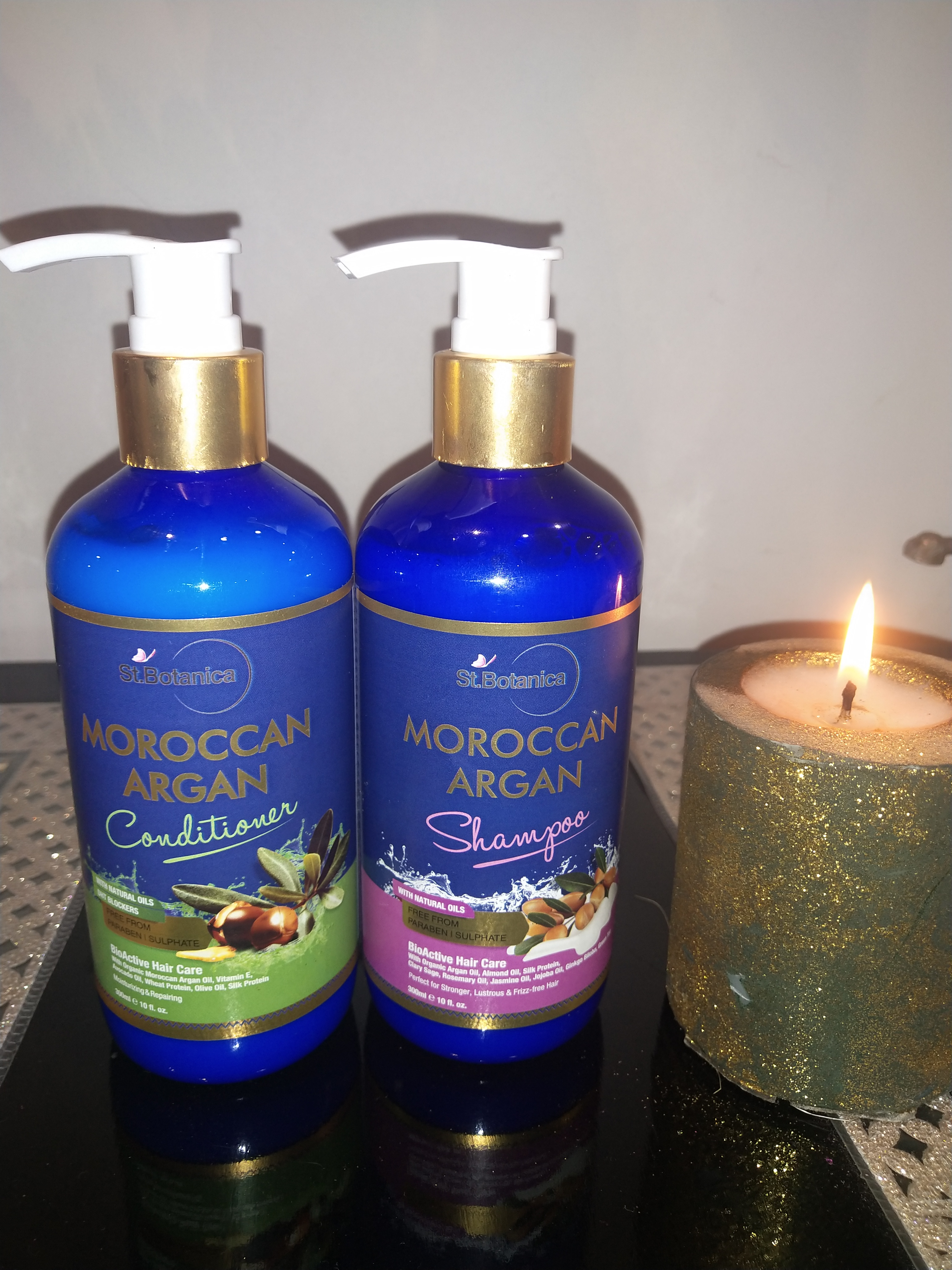 St.Botanica Moroccan Argan Hair Conditioner-Totally recommended for smooth tresses-By simardeep15