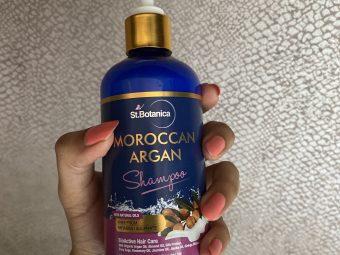 StBotanica Moroccan Argan Hair Shampoo -Very nice shampoo for all hairtypes-By styleslaytravel