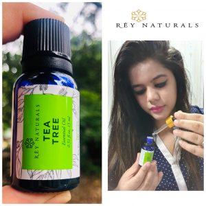 Rey Naturals Tea Tree Essential Oil pic 1-Works wonder for skin and hair-By rupalimehra186