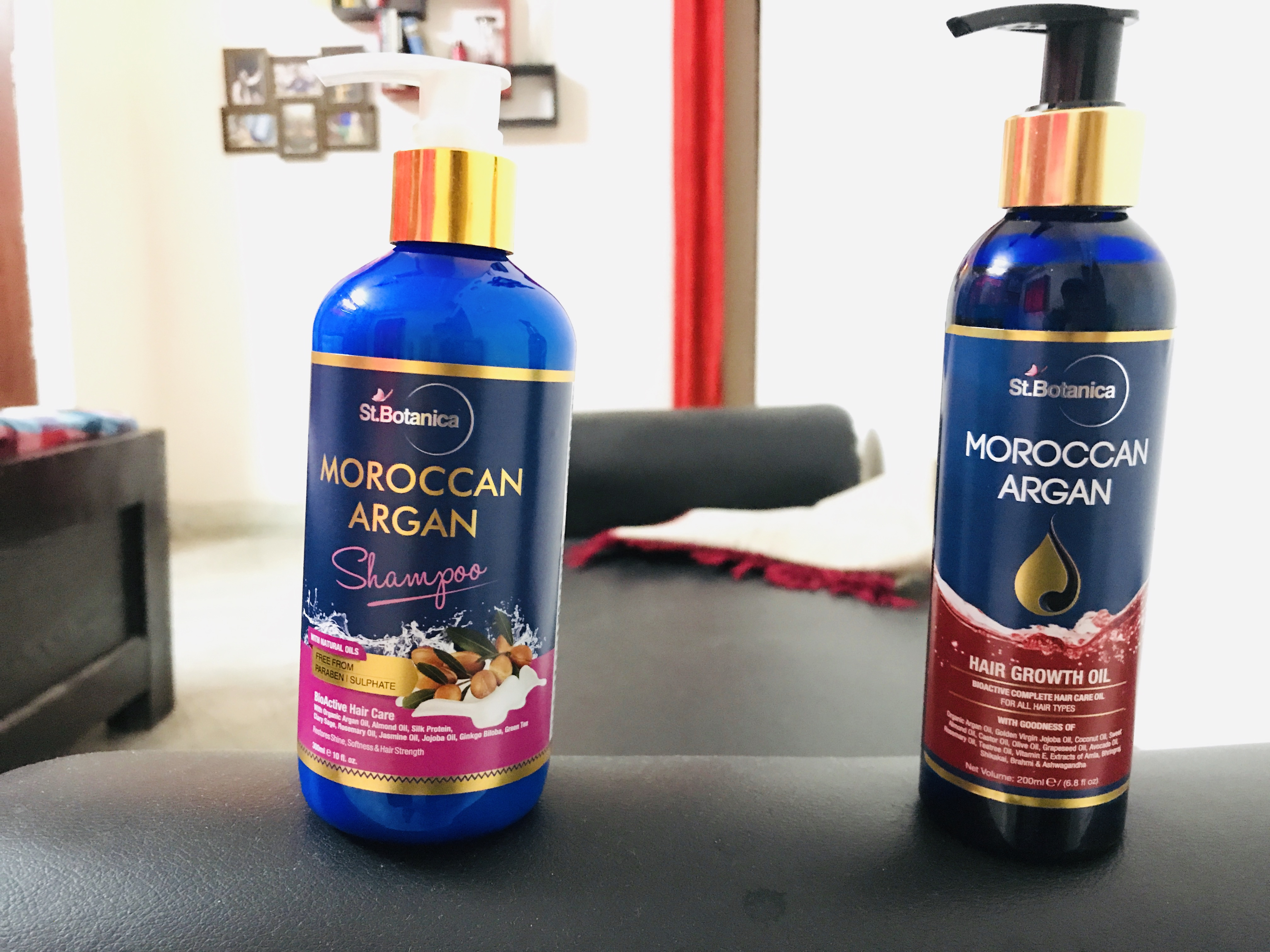 StBotanica Moroccan Argan Hair Shampoo-Best hair care combo-By talha_thakur-2
