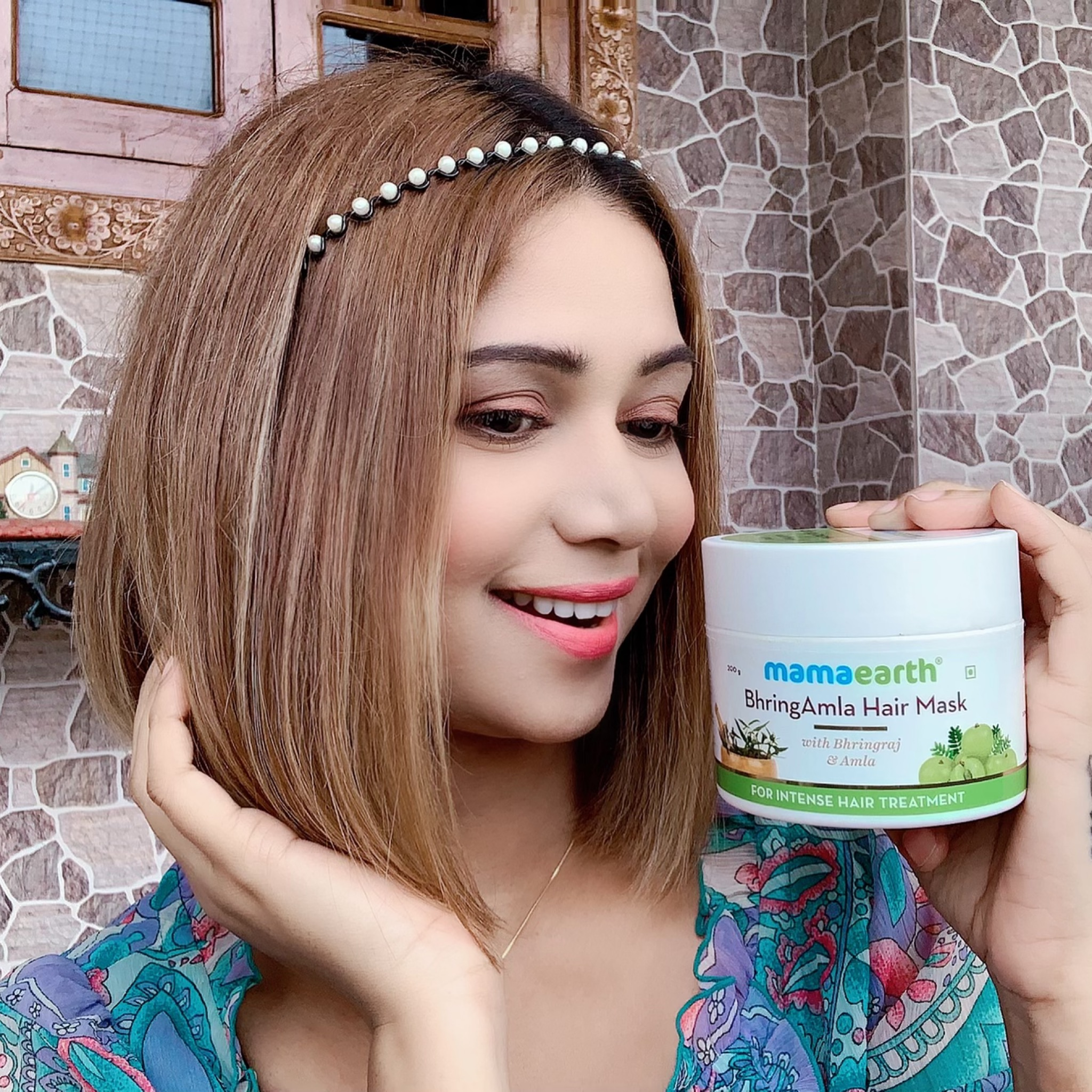 Mamaearth BhringAmla Hair Mask-BEST HAIR MASK WITH AMAZING RESULTS-By mahekhanitha-4