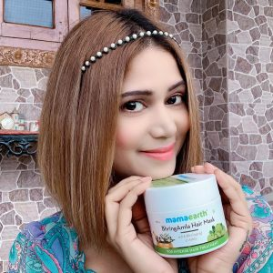 Mamaearth BhringAmla Hair Mask pic 1-BEST HAIR MASK WITH AMAZING RESULTS-By mahekhanitha