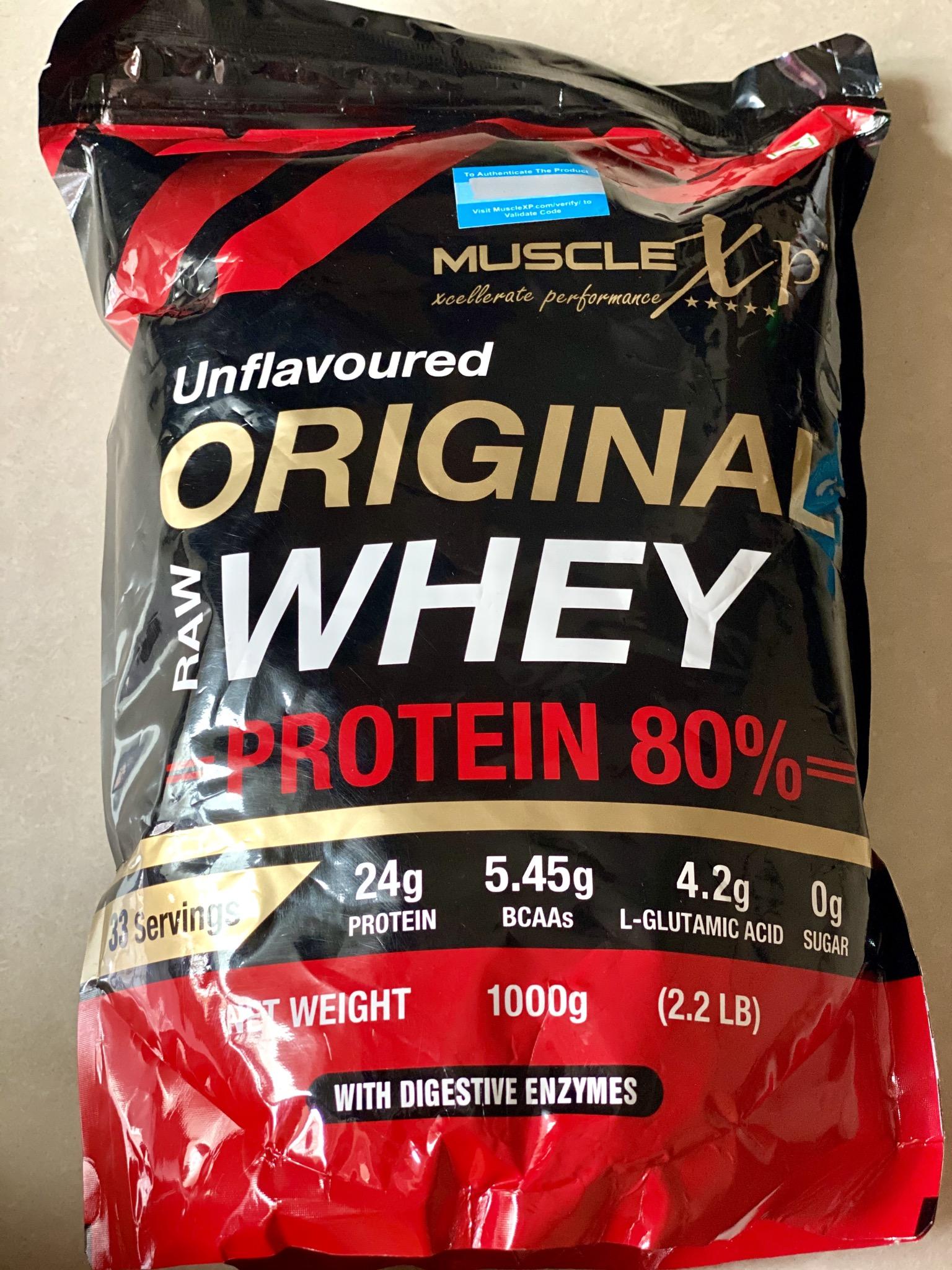 MuscleXP Raw Whey Protein 80% Powder Unflavoured-Best raw whey protein-By yogita_parmar