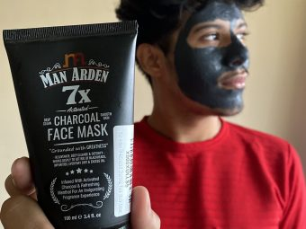 Man Arden 7X Activated Charcoal Face Mask pic 2-Best of All-By adnaan