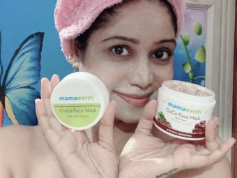 Mamaearth Coco Face Mask With Coffee & Cocoa pic 4-Best Rejuvenating Face Mask-By mahekhanitha