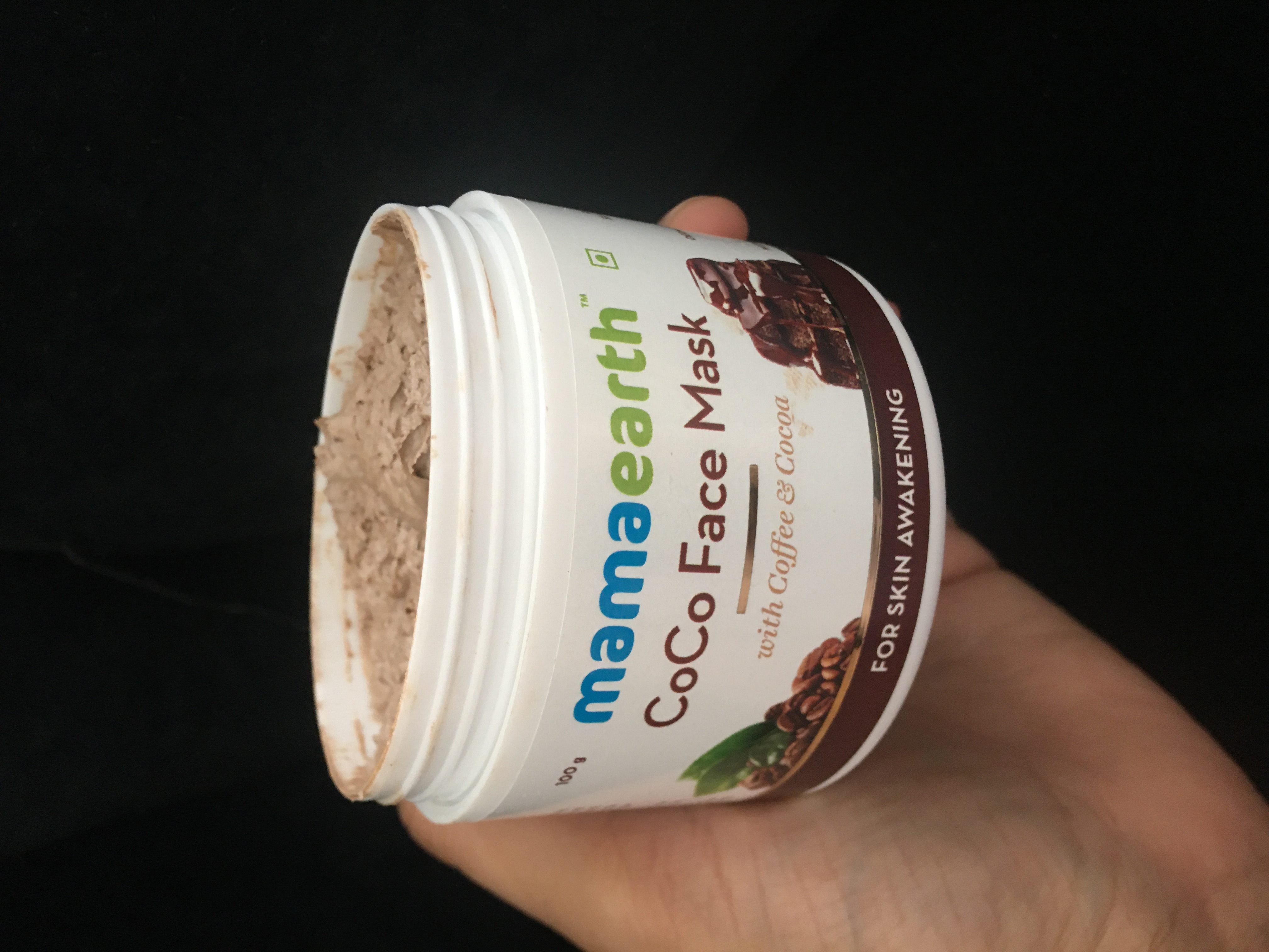 Mamaearth Coco Face Mask With Coffee & Cocoa-The exotic Experience-By aarushine-3