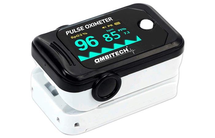 AmbiTech Fingertip Pulse Oximeter