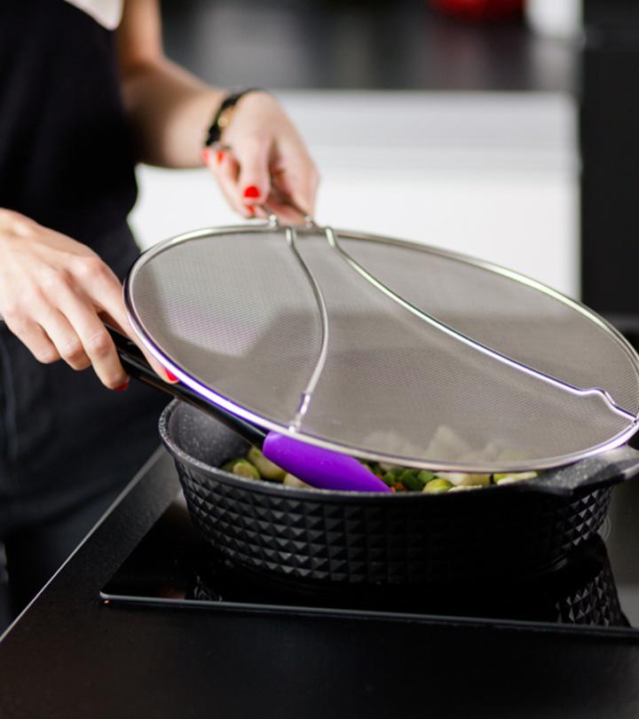 6 Best Splatter Screens For Frying Pans Of 2020 – Buyer's Guide