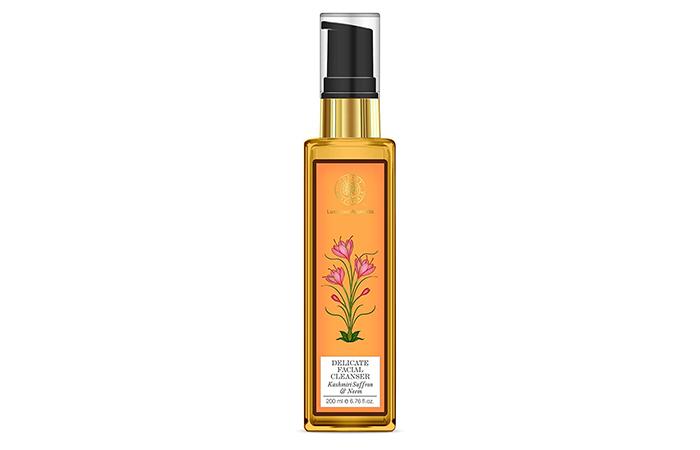 Forest Essentials Kashmiri Saffron & Neem Delicate Facial Cleanser