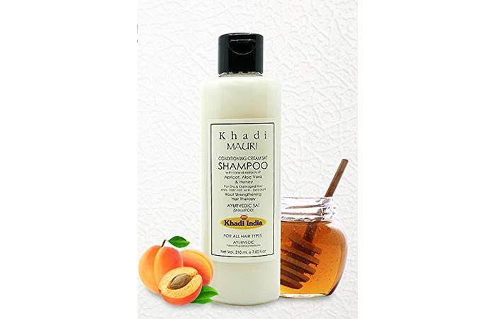 Khadi Mauri Herbal Conditioning Cream Shampoo