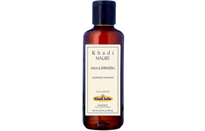 Khadi Mauri Herbals Amla & Bhringraj Ayurvedic Shampoo