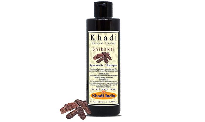 Khadi Natural Herbal Shikakai Ayurvedic Shampoo