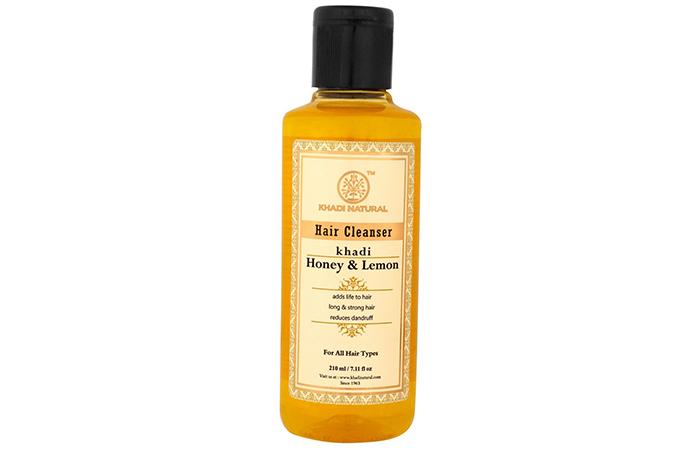 Khadi Natural Honey & Lemon Hair Cleanser