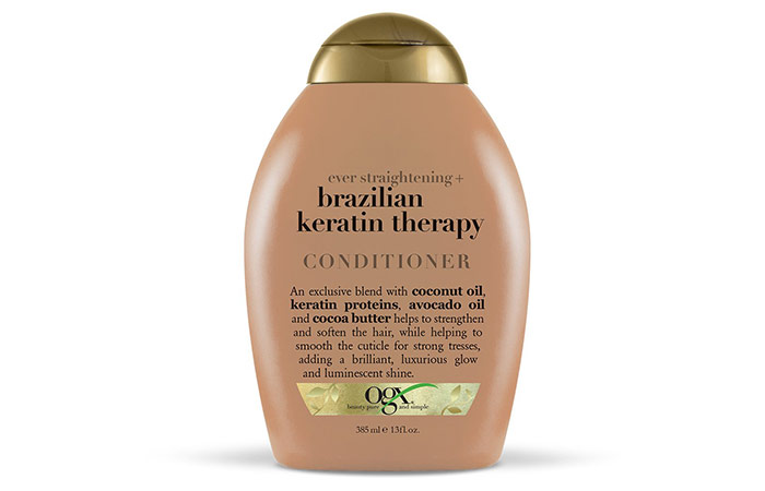 OGX Ever Straightening + Brazilian Keratin Therapy Conditioner