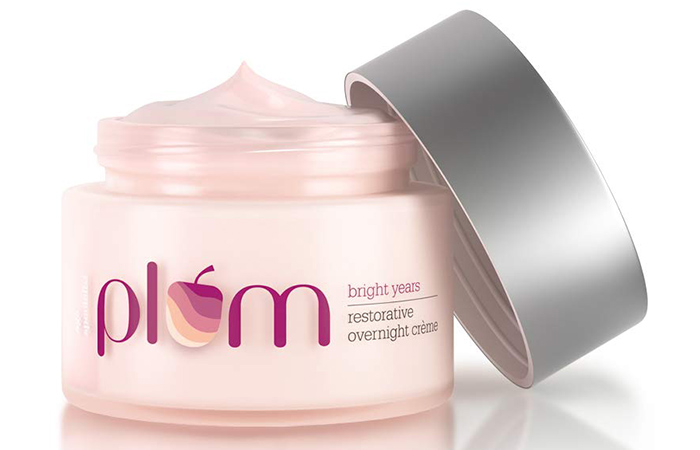 Plum Bright Years Restorative Overnight Creme