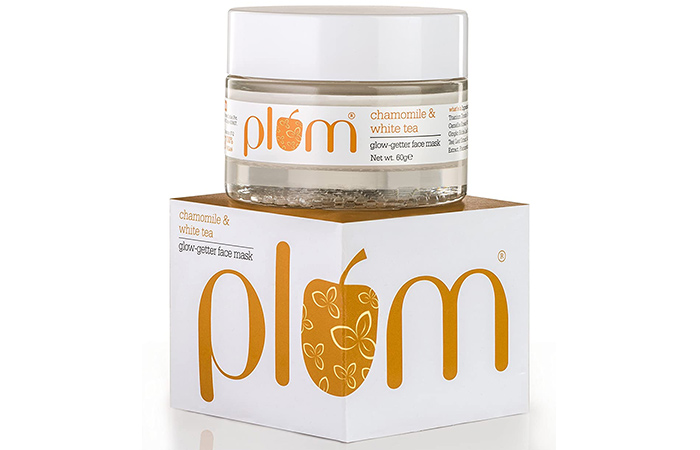 Plum Chamomile & White Tea Glow-Getter Face Mask