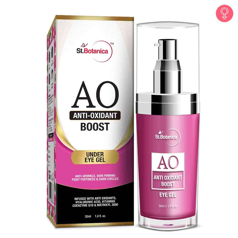 St.Botanica Anti Oxidant Boost Under Eye Gel