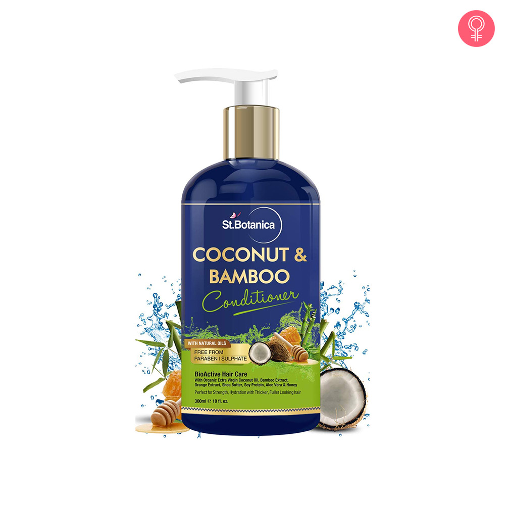 St.Botanica Coconut & Bamboo Hair Conditioner