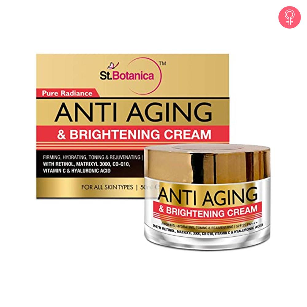 St.Botanica Pure Radiance Anti Aging & Brightening Cream