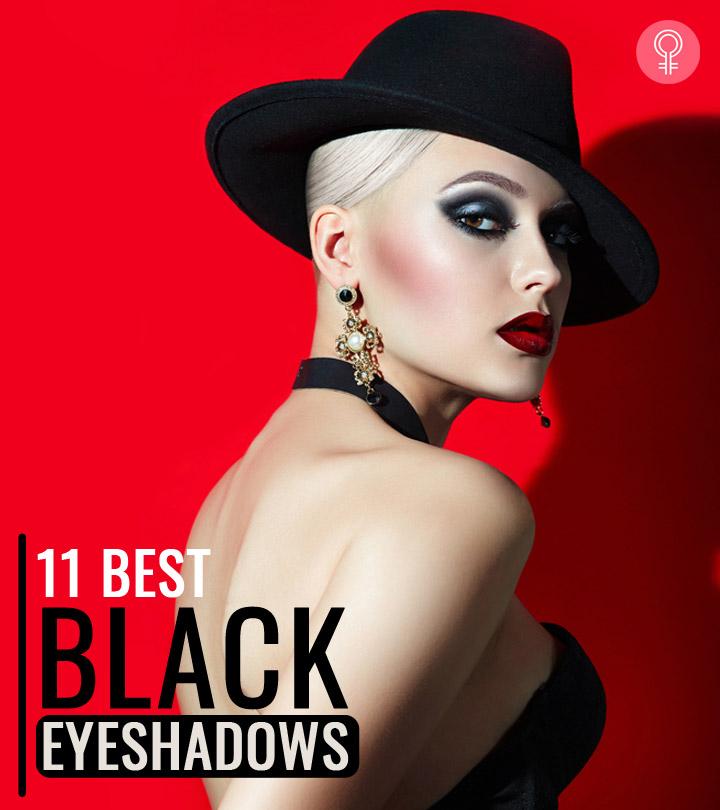 The 11 Best Black Eyeshadows For Smokey Eyes – 2020