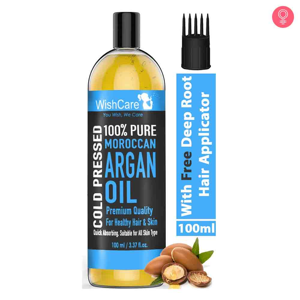 WishCare Pure Cold Pressed Moroccan Argan Oil