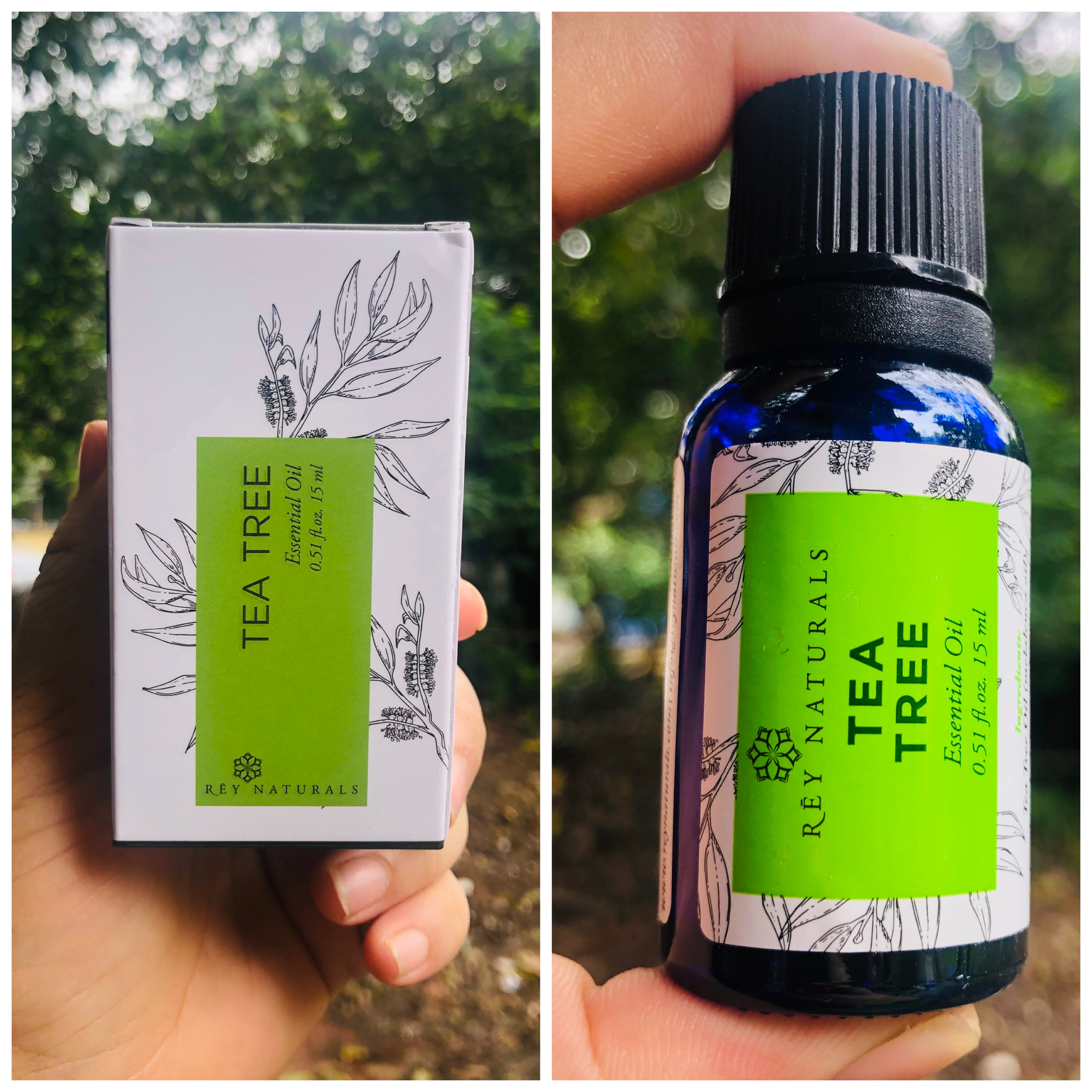 Rey Naturals Tea Tree Essential Oil-Works wonder for skin and hair-By rupalimehra186-2