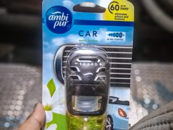 Ambi Pur Car Air Freshener – Exotic Jasmine -Love the fragrance-By thewearwitch