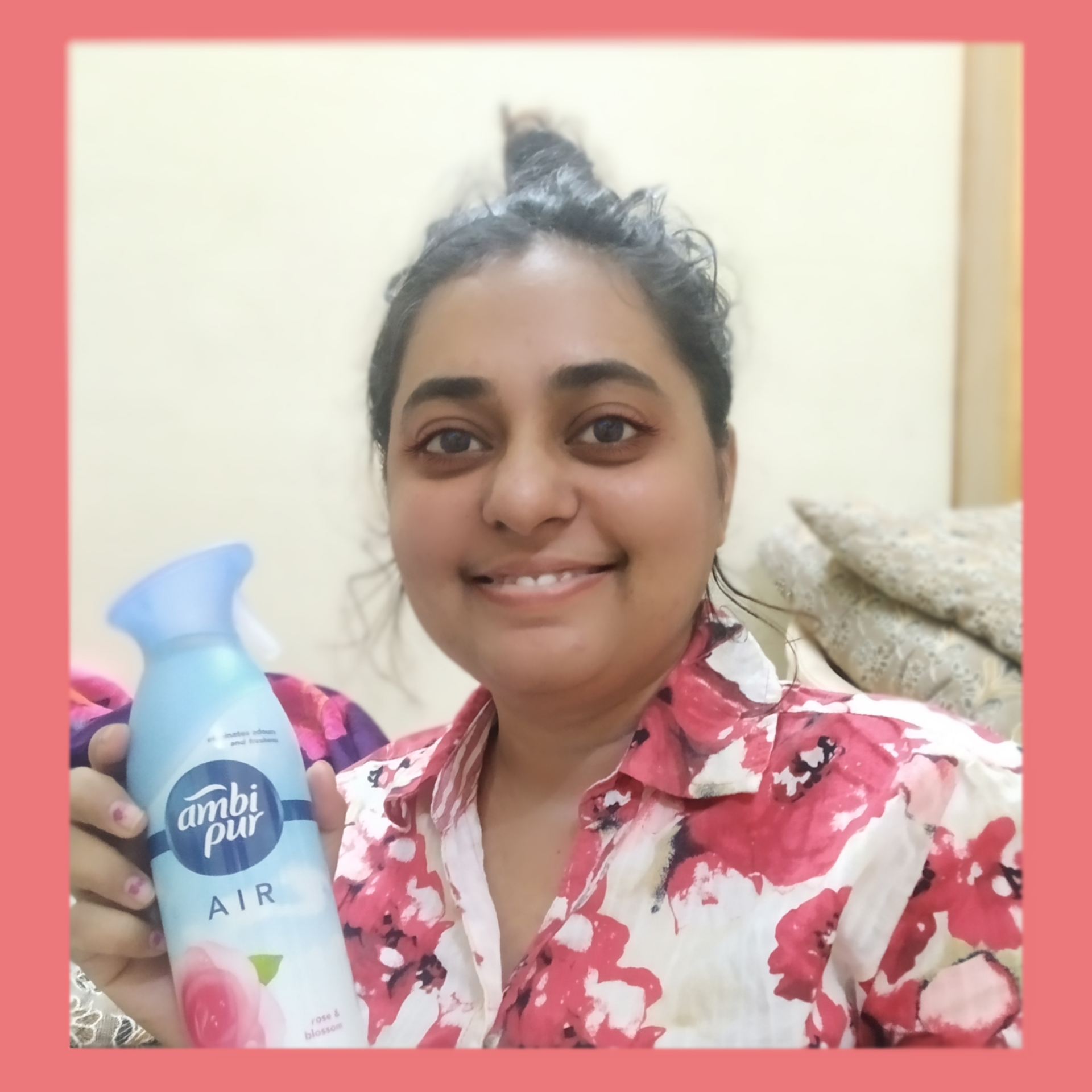Ambi Pur Air Freshener – Rose and Blossom-Great way to freshen the clean feeling of house-By prachi_jagirdar