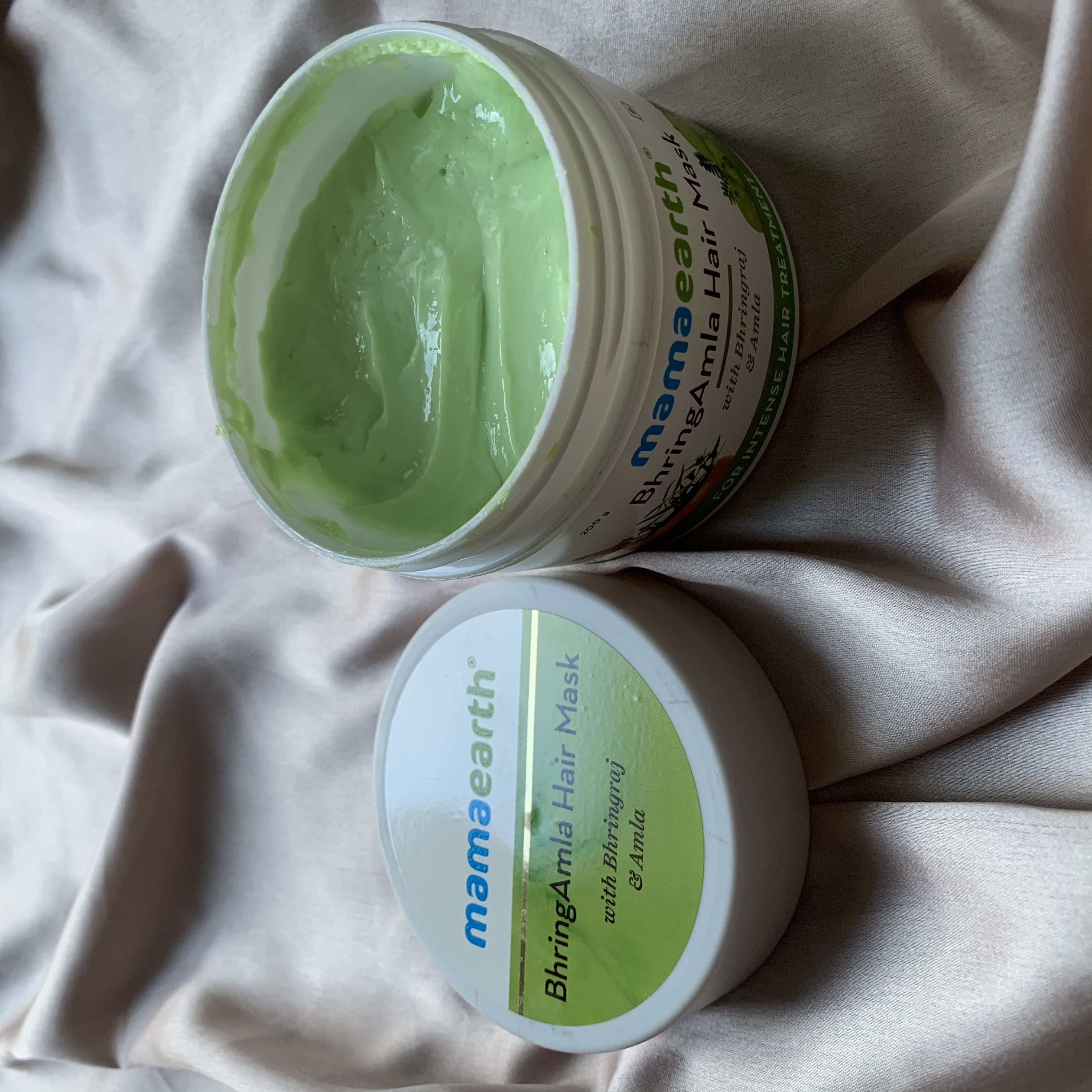 Mamaearth BhringAmla Hair Mask-Love It-By shivvxngii-2