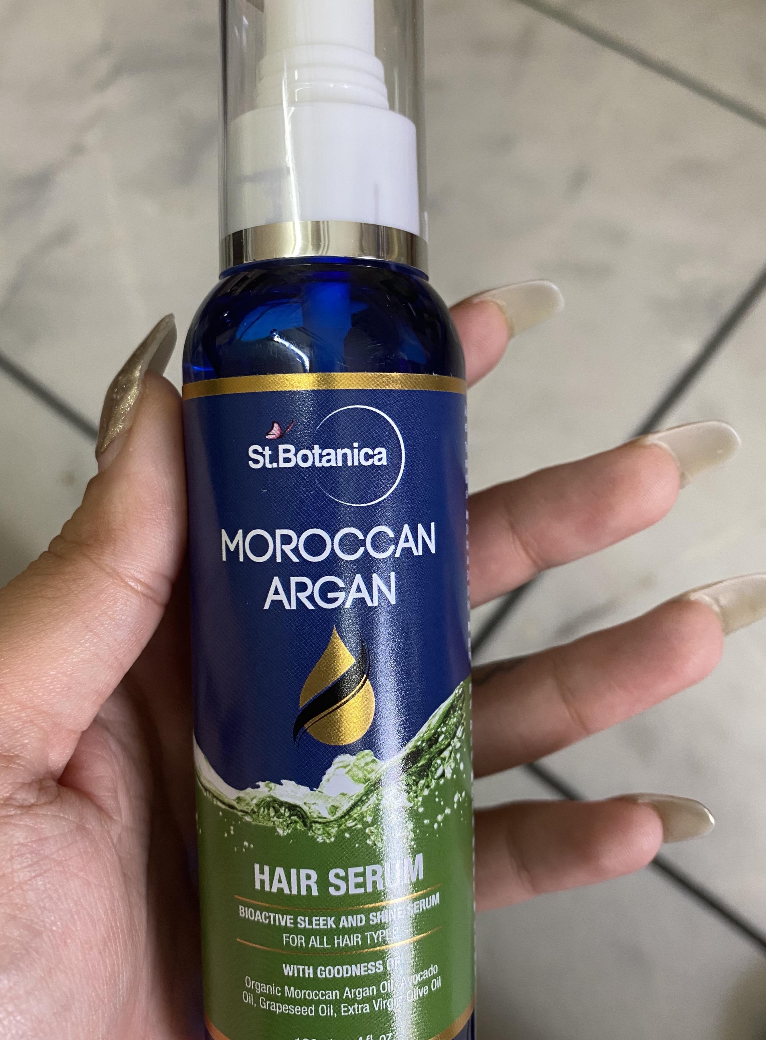 St.Botanica Moroccan Argan Hair Serum -Smooth and manageable hair-By ritika_malik