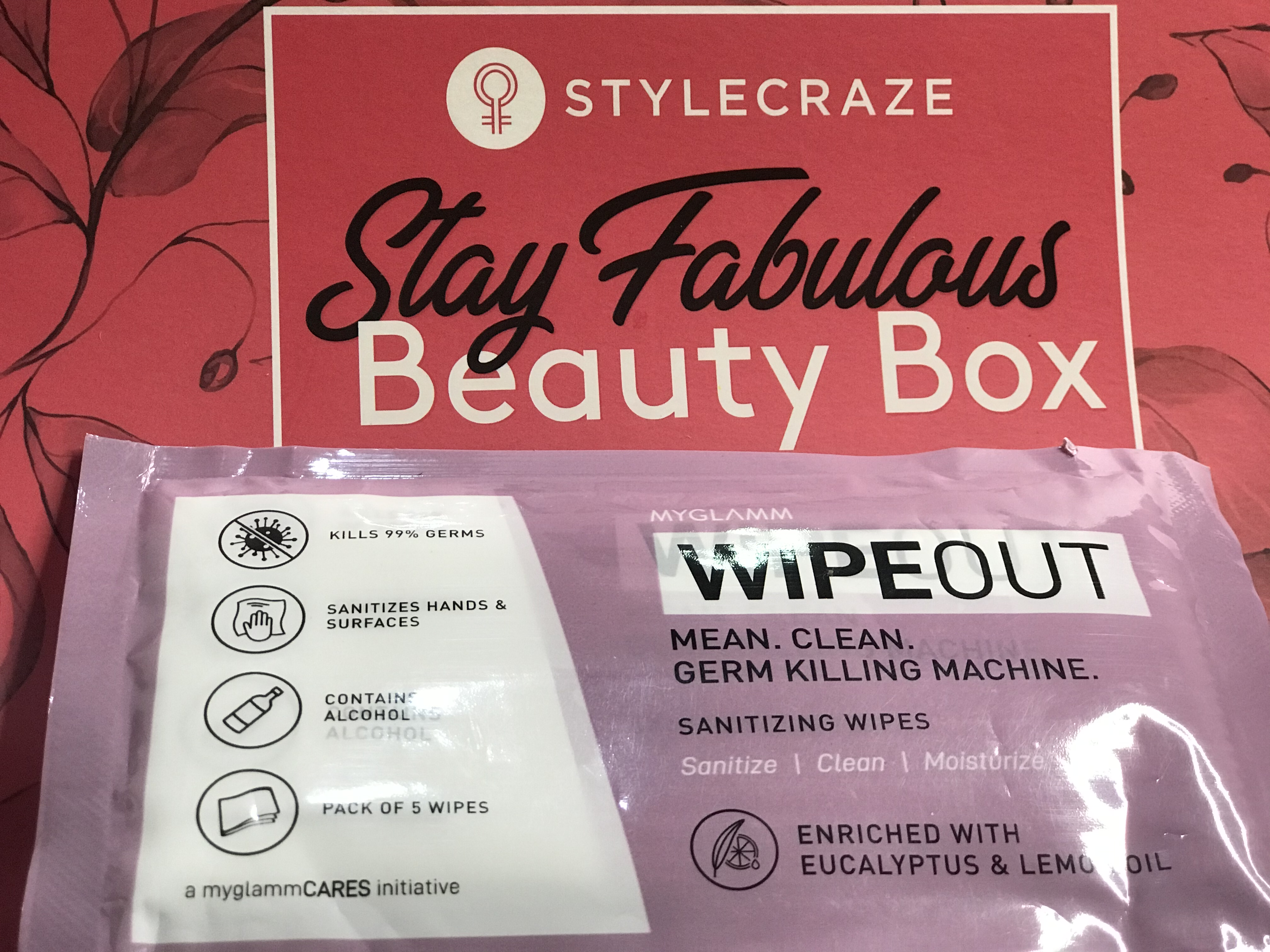 MyGlamm Wipeout Sanitizing Wipes-Kill the Germs-By womanofbeauty-3