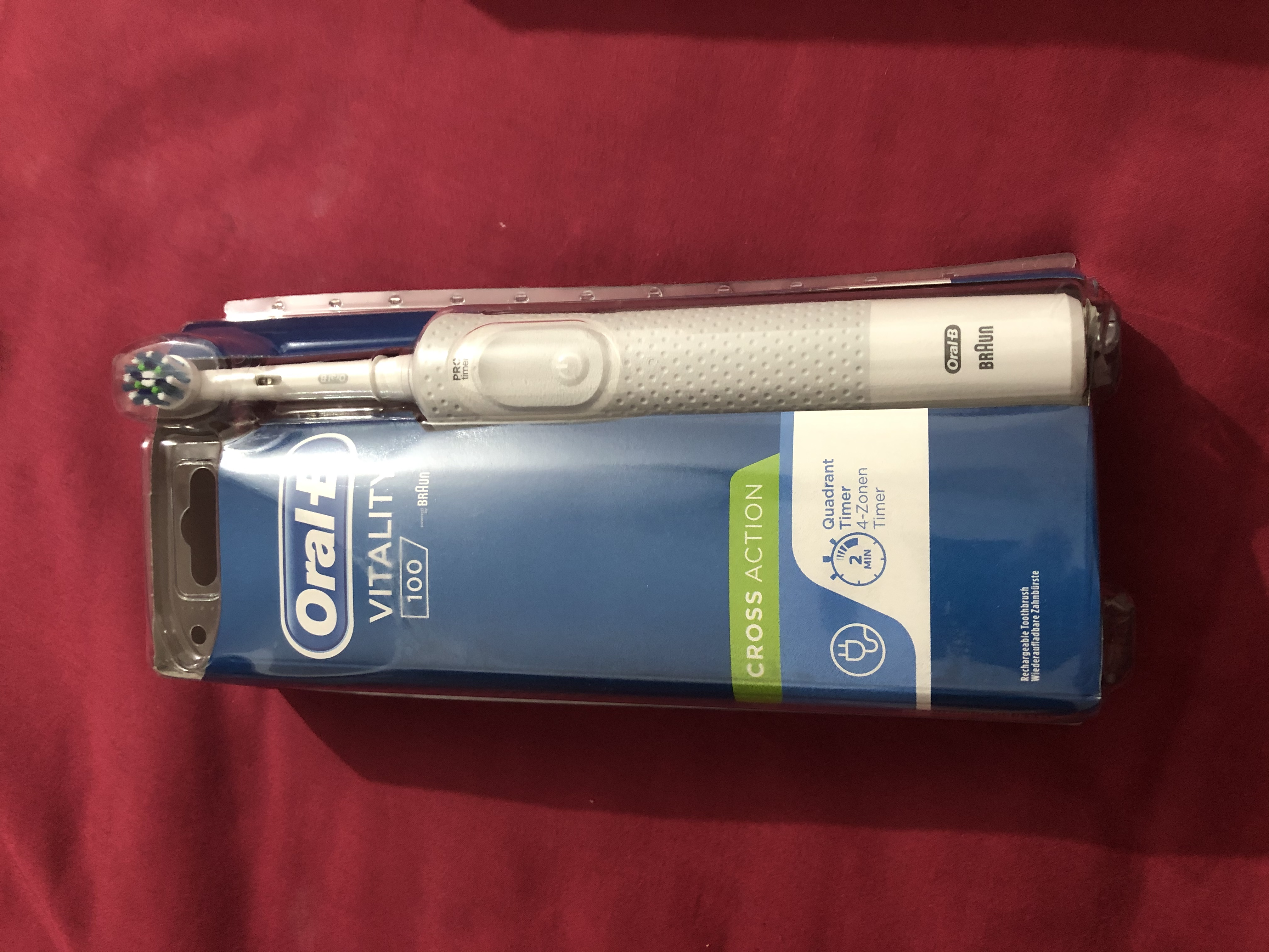 Oral-B Vitality Cross Action Electric Rechargeable Toothbrush-A must have essential-By sonalverma-1