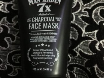 Man Arden 7X Activated Charcoal Face Mask -Must have charcoal face mask-By sahil_