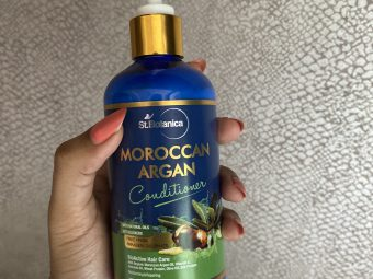 St.Botanica Moroccan Argan Hair Conditioner -Excellent for dry & frizzy hair-By styleslaytravel
