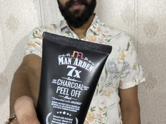Man Arden 7X Activated Charcoal Peel Off Mask -Incredible peel off mask-By rahul_nanda