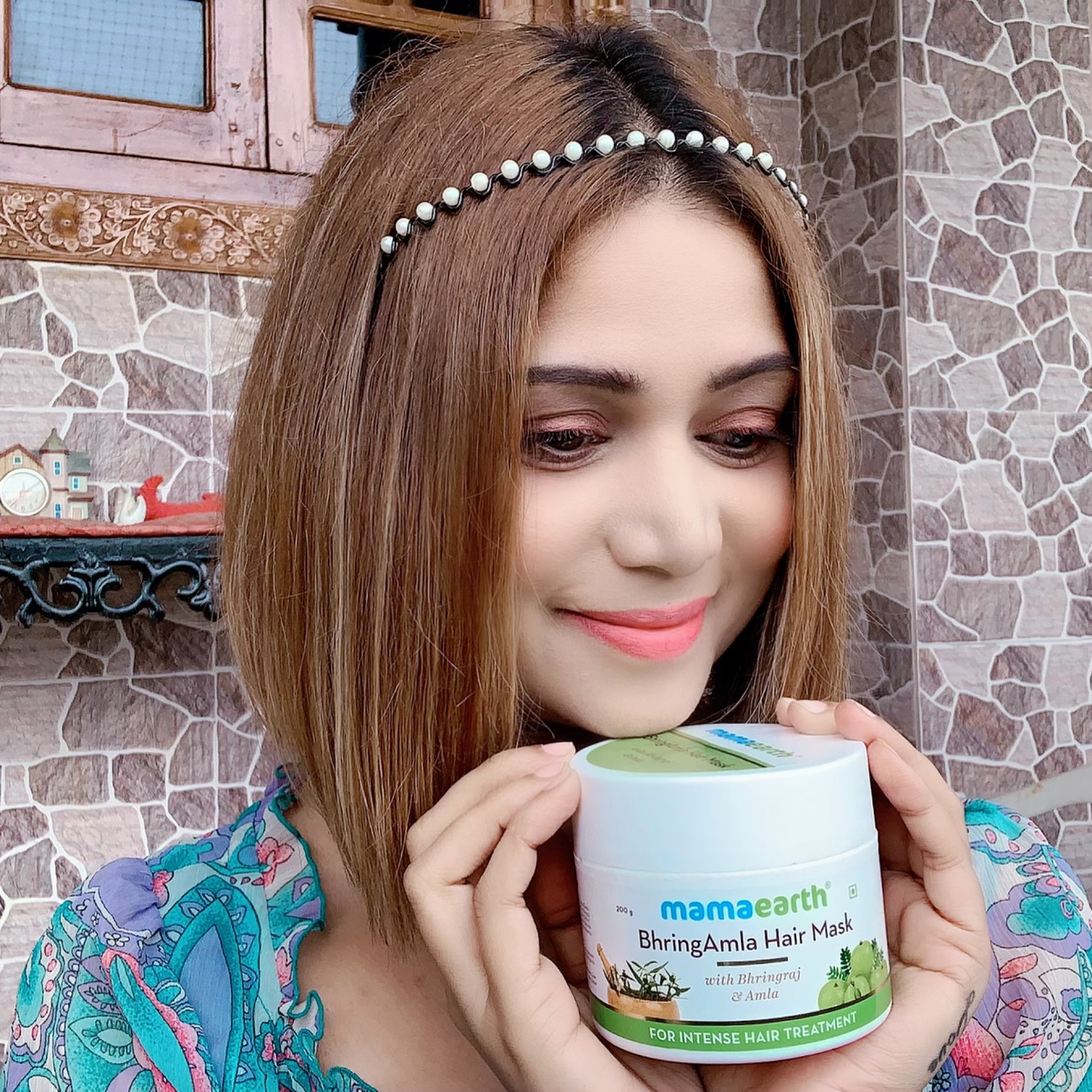Mamaearth BhringAmla Hair Mask-BEST HAIR MASK WITH AMAZING RESULTS-By mahekhanitha-3