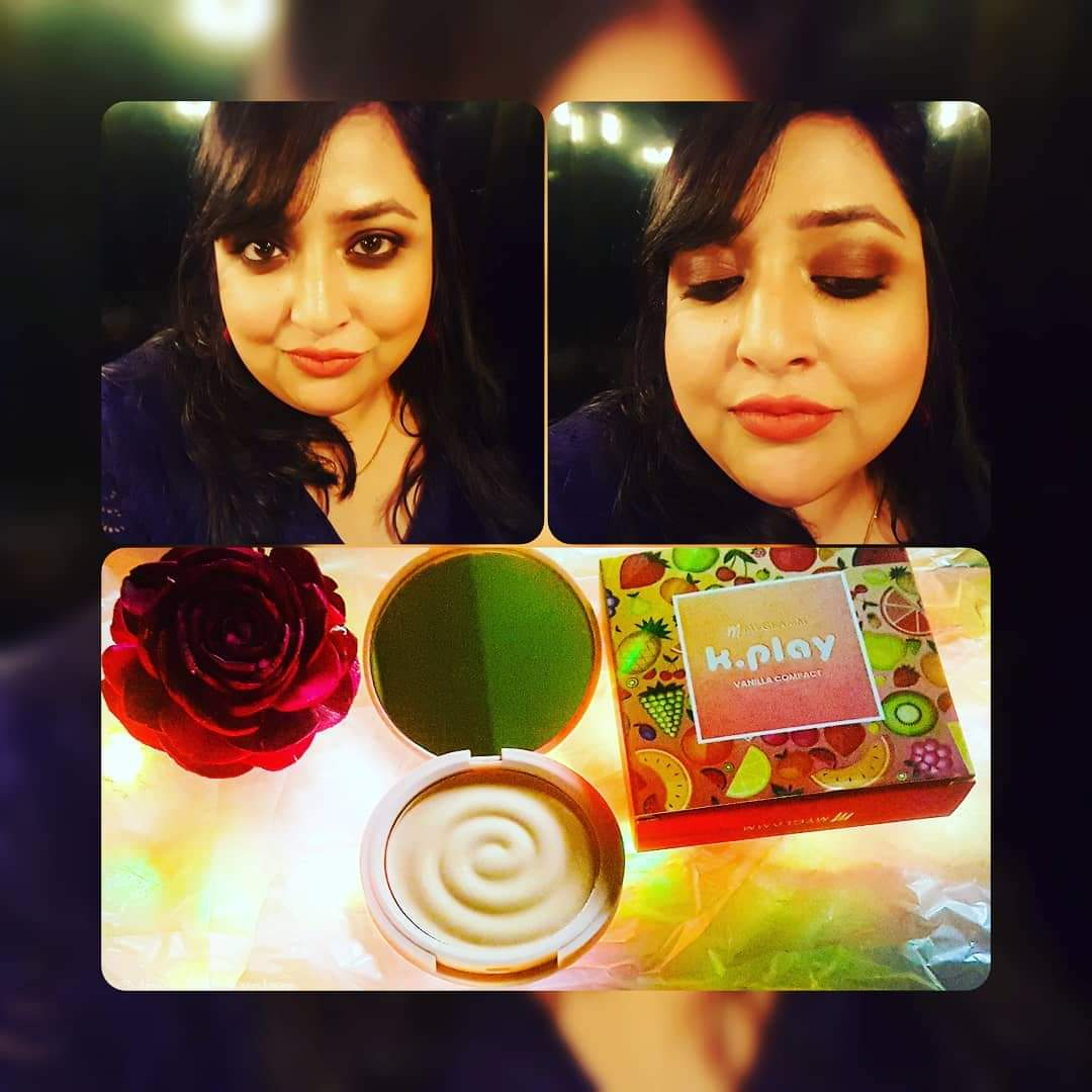 MyGlamm K.PLAY FLAVOURED COMPACT -My Glamm K Play Compact-By sarkar_pamela