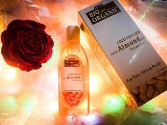 Indus Valley Cold Pressed Sweet Almond Oil -Indus Valley Cold Pressed Sweet Almond Oil-By sarkar_pamela