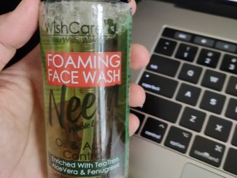 WishCare Foaming Neem Face Wash pic 1-Refreshing face wash-By bhawna_sharma
