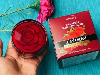 St.Botanica Bulgarian Rose Otto Glow Day Cream -All in one – day lotion-By divyaramesh
