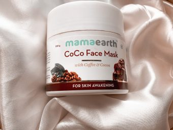 Mamaearth Coco Face Mask With Coffee & Cocoa -Nice product-By tejaswi_baronia