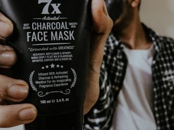 Man Arden 7X Activated Charcoal Peel Off Mask pic 1-Amazing products-By aamir9323