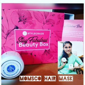 The Moms co. KA+ Natural Damage Repair Hair Mask -Best hair mask-By yashugopichand_