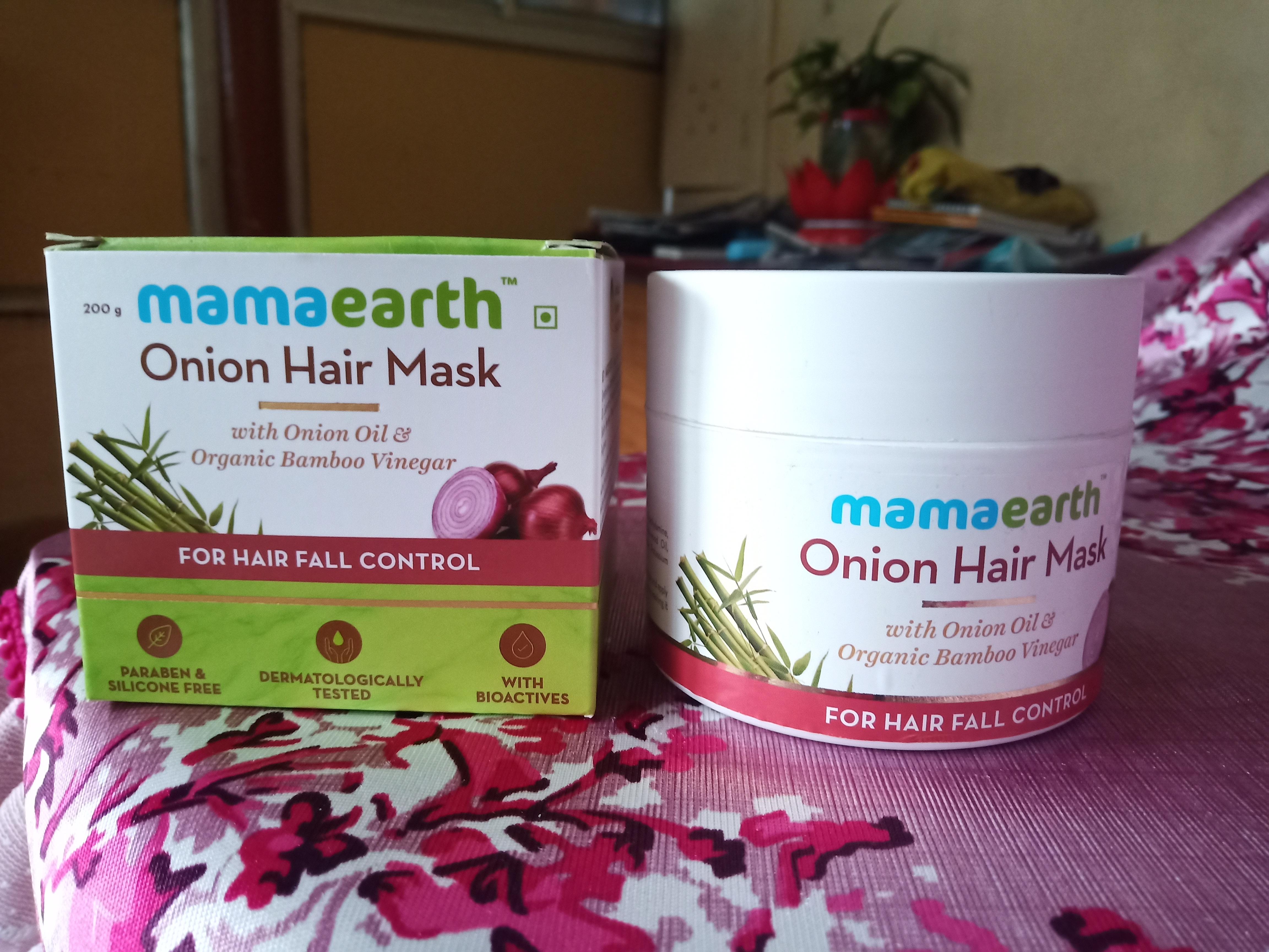 MamaEarth Onion Hair Mask-Best ever hair mask-By saumya_suresh-2